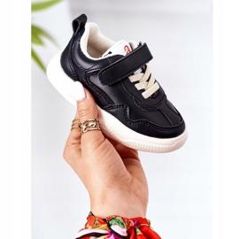 Apawwa Dječje sportske cipele Tenisice Black Runner crno 1