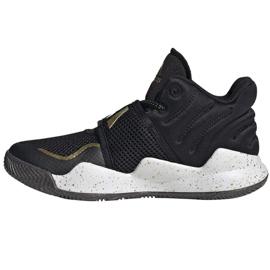 Cipele adidas Deep Threat Primeblue C Jr GZ0111 bijela crno 1