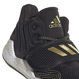 Cipele adidas Deep Threat Primeblue C Jr GZ0111 bijela crno 3