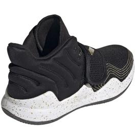 Cipele adidas Deep Threat Primeblue C Jr GZ0111 bijela crno 5
