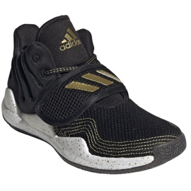 Cipele adidas Deep Threat Primeblue C Jr GZ0111 bijela crno 7