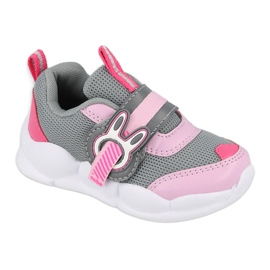 Befado dječje cipele 516P091 ružičasta siva 2