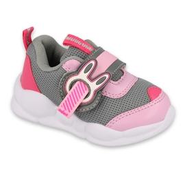 Befado dječje cipele 516P091 ružičasta siva 1