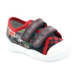 Befado dječje cipele, tenisice, papuče 907p093 crvena siva 1