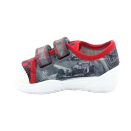 Befado dječje cipele, tenisice, papuče 907p093 crvena siva 2