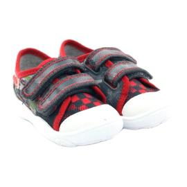 Befado dječje cipele, tenisice, papuče 907p093 crvena siva 4