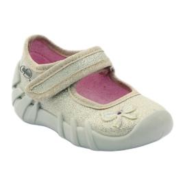 Djevojke papuče luk Befado zlato zlatna 1