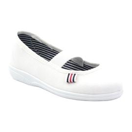Djevojačke papuče Češka Befado 274X013 bijela 1