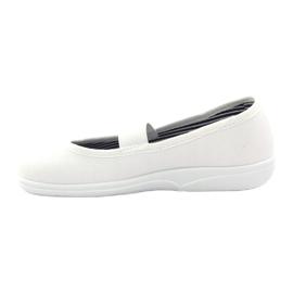 Djevojačke papuče Češka Befado 274X013 bijela 2