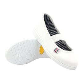Djevojačke papuče Češka Befado 274X013 bijela 3
