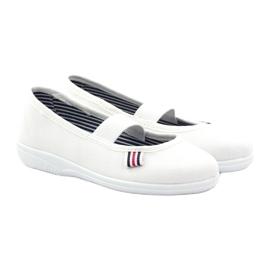 Djevojačke papuče Češka Befado 274X013 bijela 4