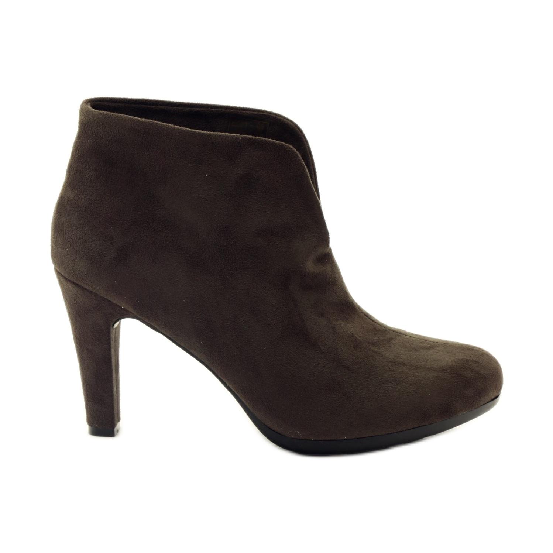 Smeđe ženske cipele Hengst 214702